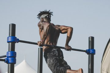 cwiczenia na placu street workout